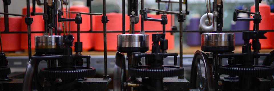 加地金襴工場の画像